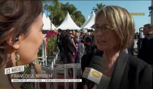 "Françoise Nyssen ""On doit exister ensemble"" - Cannes 2018"