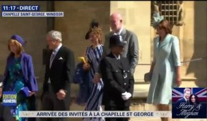 La famille de Kate Middleton avec sa soeur Pipa arrive à la chapelle Saint-Georges #RoyalWedding