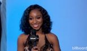 Normani On Meeting Janet Jackson and Future Missy Elliott Collaboration | BBMAs 2018