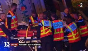 Drôme : accident de bus mortel