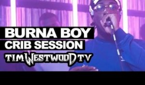 Burna Boy freestyle - Westwood Crib Session