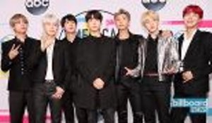 BTS Adds Another Milestone As First K-Pop Act to Hit No. 1 on Billboard Artist 100 | Billboard News