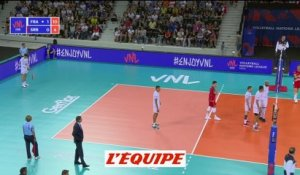 Le résumé vidéo de France-Serbie - Volley - Ligue des Nations