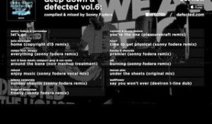 Deep Down & Defected Vol. 6: Sonny Fodera  - Album Sampler