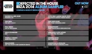 Defected In The House Ibiza 2014 - Album Sampler