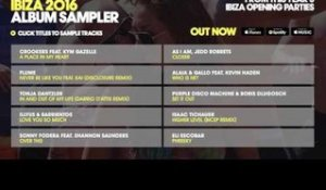 Defected presents: The Opening Party Ibiza 2016 - Album Sampler