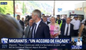 Migrants: Wauquiez fustige l'accord de l'UE