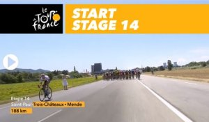Départ / Start - Étape 14 / Stage 14 - Tour de France 2018