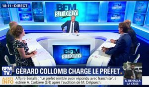 Affaire Benalla: Collomb charge le préfet de police