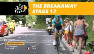 L'échappée / The breakaway - Étape 17 / Stage 17 - Tour de France 2018