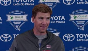 Eli on Barkley: I've been impressed with his 'professionalism'