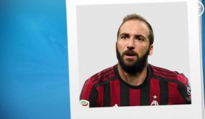 Officiel : Higuain file finalement à l'AC Milan