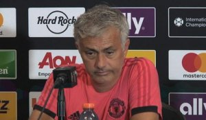 Man United - Mourinho : ''Le Real Madrid est plus grand que n'importe quel joueur''