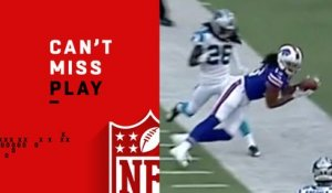 Can't-Miss Play: Benjamin makes impossible toe-drag sideline catch