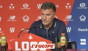 Galtier «Pied attend le verdict de la DNCG» - Foot - L1 - Losc