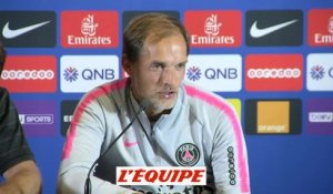 Tuchel «On trouvera une solution» - Foot - L1 - PSG