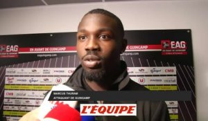 M. Thuram «On append de nos erreurs» - Foot - L1 - EAG