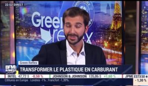 Green Reflex: transformer le plastique en carburant - 05/09