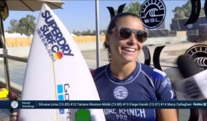 Adrénaline - Surf : Coco Ho with an 8.4 Wave from Surf Ranch Pro, Women's Championship Tour - Qualifying Round