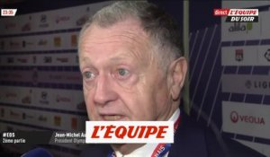 Aulas«Il n'y a pas trop eu d'incidents» - Foot - L1 - OL