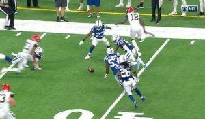 Matthias Farley punches ball from A.J. Green, Colts recover fumble