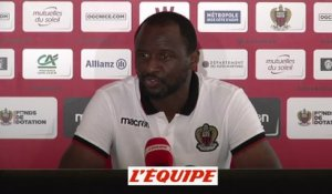 Vieira «On a souffert» - Foot - L1 - Nice