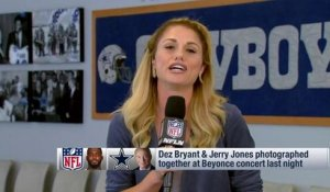 Dez Bryant and Jerry Jones at Beyonce concert; does it mean anything?