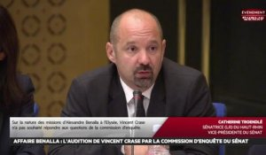 Affaire Benalla : Audition de Vincent Crase, gendarme réserviste