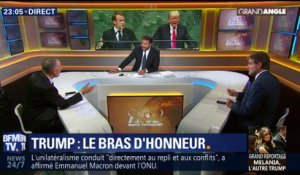 Macron/Trump: Dialogue de sourds