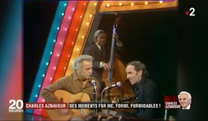 Charles Aznavour : des moments for me, formi, formidables !