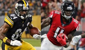 Who has better receivers: Steelers or Falcons?