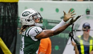 Robby Anderson jukes Roby out of cleats on sideline catch