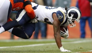 Gurley scores second rushing TD of game