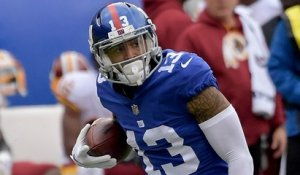 Odell Beckham breaks free for 32-yard catch and run