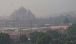 Inde : une pollution de l'air impressionnante