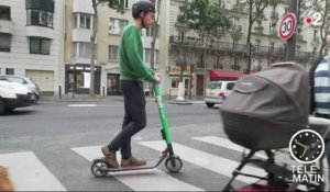 Auto - Trottinette : attention danger !