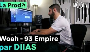 """Woah"" de 93 Empire : Comment Diias a composé le hit"