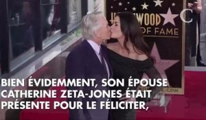 PHOTOS. Michael Douglas entouré de sa famille pour l'inauguration de son étoile à Hollywood