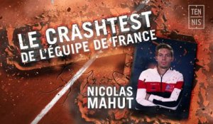 Coupe Davis le crash test bleu : Nicolas Mahut