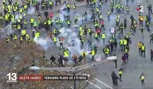 """Gilets jaunes"" : la tension monte à Paris"