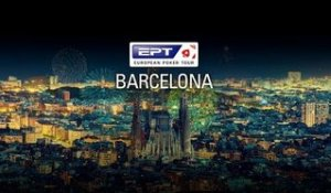 Main Event EPT BARCELONE, Jour 2 (cartes visibles)