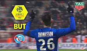 But Adrien THOMASSON (49ème) / Stade de Reims - RC Strasbourg Alsace - (2-1) - (REIMS-RCSA) / 2018-19