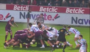 TOP 14 - Essai de PENALITE (R92) - Bordeaux-Bègles - Racing 92 - J13 - Saison 2018/2019