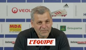 Bruno Genesio évoque sa prolongation de contrat - Foot - L1 - OL