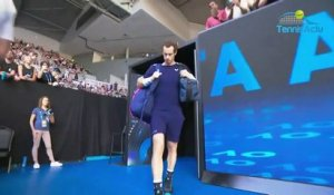 Open d'Australie 2019 - Andy Murray ovationné pour sa der à Melbourne !