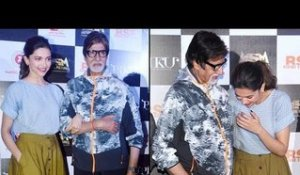 'Piku' Bollywood Movie 2015 | Deepika and Amitabh Talk About Emotional Motions At Trailer Launch