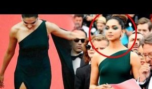 Deepika Padukone UNSEEN FOOTAGE At Cannes 2017 Red Carpet