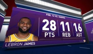 NBA [Focus] Un triple-double pour rien pour LeBron James