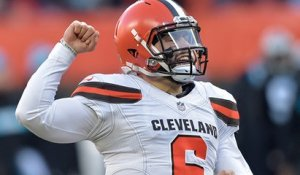 What was Baker Mayfield's defining moment of 2018?
