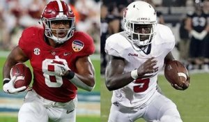 Top combine RBs to watch, according to DJ and Bucky
